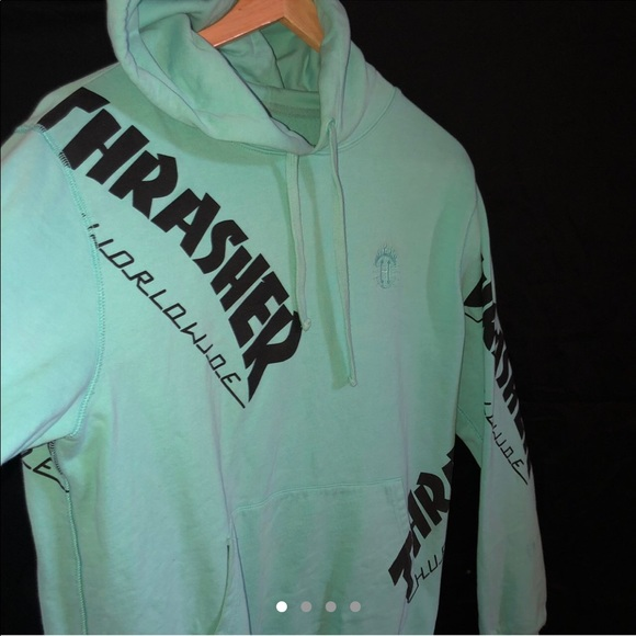 a28c09a4fd78 Thrasher Sweaters | Limited Edition X Huf Hoodie | Poshmark